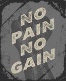 Gym e projeto do cartaz do exercício Imagem de Stock