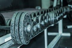 Gym żelazo Fotografia Stock
