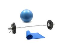 Gym Equipment Royalty Free Stock Photography