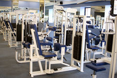 Gym equipment Royalty Free Stock Photo