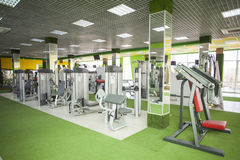 Gym equipment room Stock Photography