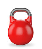 Gym equipment weight kettle bell isolated Stock Photography