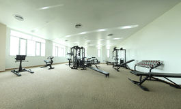 Gym equipments Royalty Free Stock Photo