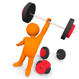 Gym Exercise Royalty Free Stock Image