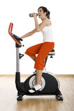 Gym exercise Royalty Free Stock Photo