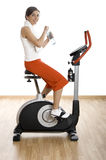 Gym exercise Stock Photography