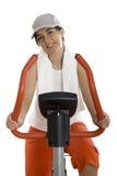 Gym exercise Stock Photo