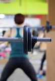 Gym exercises royalty free stock images