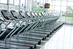 Gym facilities Royalty Free Stock Photo