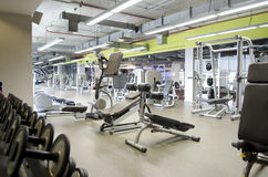 Gym. Finess center and tool Royalty Free Stock Photography