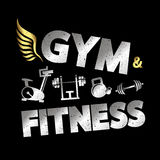Gym and fitness banner Stock Images