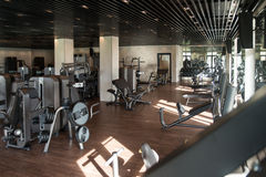 Gym Fitness Center Interior Royalty Free Stock Image