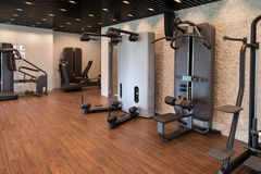 Gym Fitness Center Interior Stock Photo