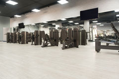 Gym Fitness Center Interior Stock Images
