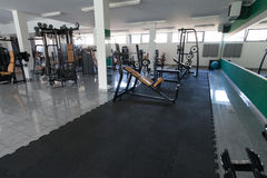 Gym Fitness Center Interior Royalty Free Stock Photo