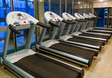 Gym in fitness club Royalty Free Stock Photography