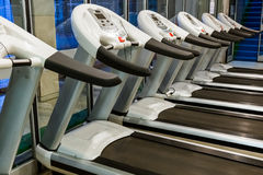 Gym in fitness club Royalty Free Stock Photo