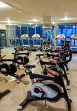 Gym in fitness club Royalty Free Stock Photos