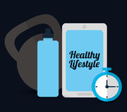 Gym and Fitness lifestyle Stock Images