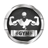 Gym and fitness vector illustration Stock Photos