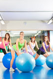 Gym fitness women - Training and workout Stock Photos