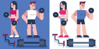 Gym Royalty Free Stock Image