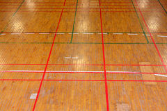 Gym floor Stock Photos