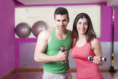 Gym friends Royalty Free Stock Photos