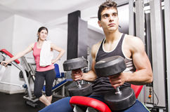 Gym friends Royalty Free Stock Photography