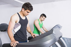 Gym friends Royalty Free Stock Images