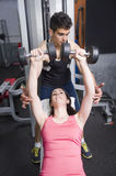 Gym friends Stock Photography