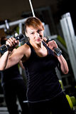 Gym girl Royalty Free Stock Image