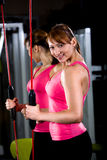 Gym girl Stock Photography