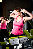 Gym girl Royalty Free Stock Images
