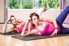 Gym girl Royalty Free Stock Photos