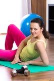 Gym girl Stock Photos