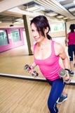 Gym girl Royalty Free Stock Photos
