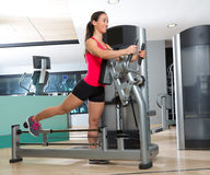 Gym glute exercise machine woman workout Royalty Free Stock Image