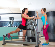 Gym glute exercise machine woman workout Stock Photography