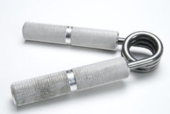 Gym Gripper. A gym gripper made of metal Royalty Free Stock Photography
