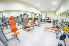Gym hall Royalty Free Stock Image