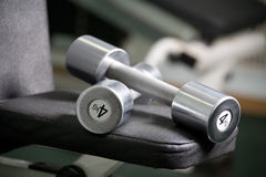 Gym hardware Royalty Free Stock Photography