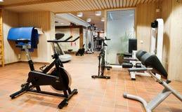 Gym hardware royalty free stock photos