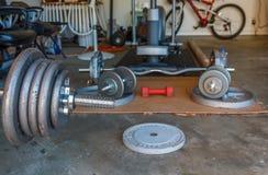 Gym home Imagem de Stock
