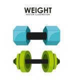 Gym icon Stock Image