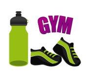 Gym icon Stock Photo