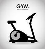 Gym icon Stock Images