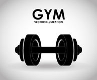 Gym icon Royalty Free Stock Images