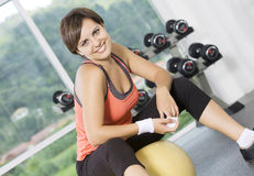 Gym image stock photography