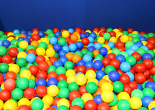Free Gym In The Kindergarten With Many Colored Plastic Balls Stock Image - 59466391